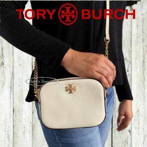 Tory Burch Small Crossbody in Ivory